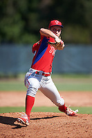 Philadelphia Phillies pitcher Nick Fanti (64) during an Instructional League game against the Toronto Blue Jays on October 1, 2016 at the Carpenter Complex in Clearwater, Florida.  (Mike Janes/Four Seam Images)