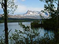 Lower St. Mary Lake on the Blackfeet Reservation