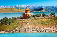10th century Armenian Orthodox Cathedral of the Holy Cross on Akdamar Island, Lake Van Turkey 85