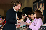 Director Tom Hooper signs autographs for fans during the Japan premiere of The Danish Girl on March 9, 2016, Tokyo, Japan. Eddie Redmayne with his wife Hannah Bagshawe came to Japan to greet fans during the red carpet for the movie The Danish Girl. The film was nominated in four categories at the Academy Awards with Best Supporting Actress going to Alicia Vikander. Redmayne who won Best Actor at the Academy Awards in 2015 lost out this year in the Best Actor category to Leonardo DiCaprio. The film hits Japanese theaters on March 18. (Photo by Rodrigo Reyes Marin/NipponNews.net)