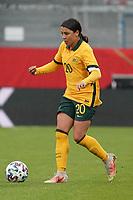 Sam Kerr (Australien, Australia) - 10.04.2021 Wiesbaden: Deutschland vs. Australien, BRITA Arena, Frauen, Freundschaftsspiel