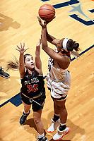 SAN ANTONIO, TX - NOVEMBER 10, 2017: The University of Texas at San Antonio Roadrunners defeat the Sul Ross State University Lobos 97-47 at the UTSA Convocation Center. (Photo by Jeff Huehn)