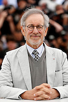 Steven Spielberg .Cannes 15/5/2013.Festival del Cinema .Foto Panoramic / Insidefoto .ITALY ONLY