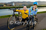 Enjoying a cycle in Blennerville on Tuesday evening, l to r: Robert and Stefan Warek
