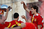 02.07.2012.Llorente during Tour of Madrid of the Spanish football team to celebrate their victory in Euro 2012 july 2012.(ALTERPHOTOS/ARNEDO)