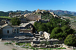 Spain, Province Valencia, Sagunto: The Castle, built by Romans, Goths, Moors and Christians | Spanien, Provinz Valencia, Sagunto: die Zitadelle, erbaut von Roemern, Goten, Mauren und Christen