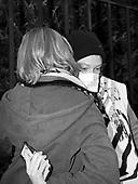 Warsaw 30.03.2021 Poland<br /> At midday in Warsaw, activist declared civil disobedience under under the slogan pisOFF, as part of which they chained themselves to government buildings, police headquarters and the Ordo Luris headquarters in Warsaw<br /> © Photo: Adam Lach<br /> <br /> Aktywisci zakuli sie do bramy Komendy Glownej Policji. W godzinach popoludniowych w Warszawie protestujacy wypowiedzieli posłuszenstwo obywatelskie pod hasłem pisOFF, w ramach czego przykuli sie do budynkowrzadowych, komendy glownej policji i siedziby Ordo Luris w Warszawie.<br /> © Photo: Adam Lach
