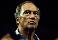 Montreal (QC) CANADA -  NOV 1987  File Photo  -  Pierre Trudeau<br /> <br /> <br /> Photo by Denis Alix - Agence Quebec Presse
