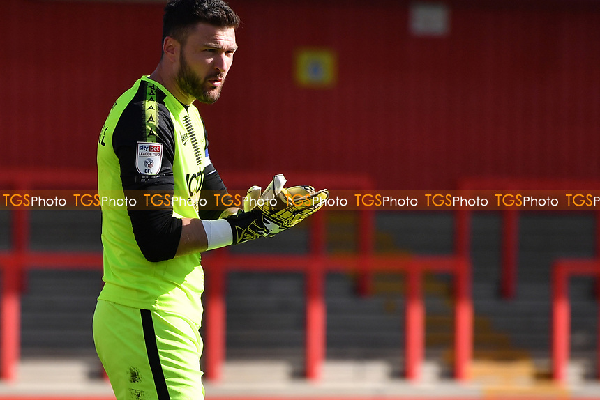 Richard O'Donnell of Bradford City AFC during Stevenage vs Bradford City, Sky Bet EFL League 2 Football at the Lamex Stadium on 5th April 2021