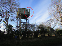 Water tower for sale with a phone mast on it which could earn over £12,000 a year for its buyer.