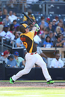 Carson Kelly of the USA Team bats against the World Team at The Futures Game at Petco Park on July 10, 2016 in San Diego, California. World Team defeated USA Team, 11-3. (Larry Goren/Four Seam Images)