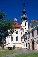 Kloster Brevnov, Kirche St. Margareten, Prag, Tschechien, Unesco-Weltkulturerbe