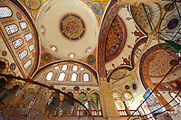 Interior of the Serafeddin Camii (Mosque) Konya, Turkey