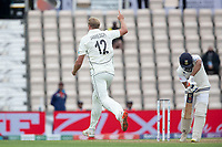 Kyle Jamieson, New Zealand celebrates the breakthrough with the wicket of Rohit Sharma during India vs New Zealand, ICC World Test Championship Final Cricket at The Hampshire Bowl on 19th June 2021
