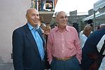 PAOLO MIELI CON FABIANO FABIANI<br /> PREMIO LETTERARIO CAPALBIO 2004