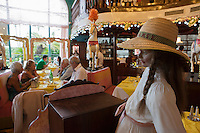Europe/France/Provence-Alpes-Côte d'Azur/06/Alpes-Maritimes/Nice:   Hôtel: Le Négresco - Brasserie La Rotonde [Non destiné à un usage publicitaire - Not intended for an advertising use]