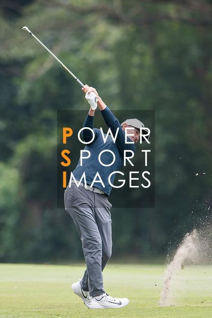 Paul Peterson of the United States hits a shot during the day three of UBS Hong Kong Open 2017 at the Hong Kong Golf Club on 25 November 2017, in Hong Kong, Hong Kong. Photo by Marcio Rodrigo Machado / Power Sport Images