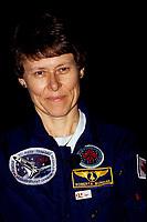 Roberta Bondar, 29 mars 1992<br /> <br /> PHOTO :  Agence Quebec Presse