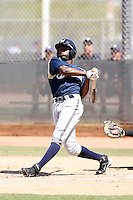 Lorenzo Cain, Milwaukee Brewers 2010 minor league spring training..Photo by:  Bill Mitchell/Four Seam Images.
