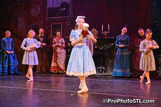 The Nutcracker presented by Missouri Ballet Theatre at Edison Theatre in St. Louis, MO on Dec 16, 2011.