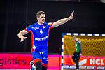 Vladan Lipovina (HBW Balingen #4) ; BGV Handball Cup 2020 Halbfinaltag: TVB Stuttgart vs. HBW Balingen-Weilstetten am 11.09.2020 in Ludwigsburg (MHPArena), Baden-Wuerttemberg, Deutschland<br /> <br /> Foto © PIX-Sportfotos *** Foto ist honorarpflichtig! *** Auf Anfrage in hoeherer Qualitaet/Aufloesung. Belegexemplar erbeten. Veroeffentlichung ausschliesslich fuer journalistisch-publizistische Zwecke. For editorial use only.