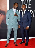 "LOS ANGELES, CA: 24, 2020: Aldis Hodge & Edwin Hodge at the premiere of ""The Invisible Man"" at the TCL Chinese Theatre.<br /> Picture: Paul Smith/Featureflash"