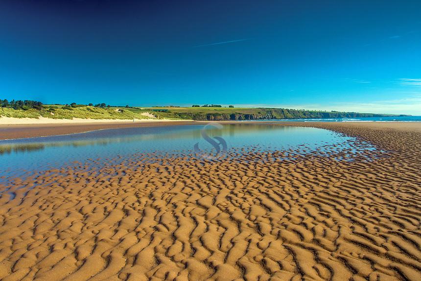 Lunan Bay, Angus, Scotland
