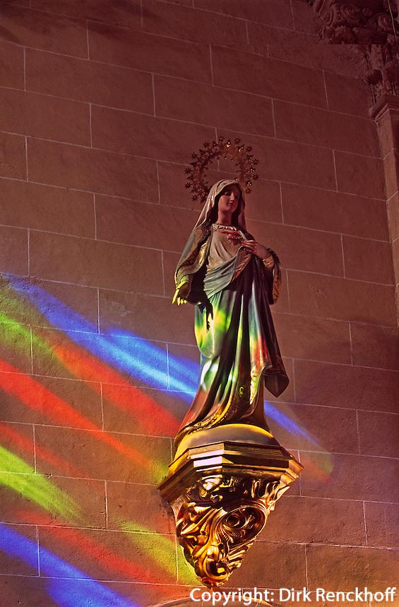 Spanien, Mallorca, Maria in Ermita de nostra Senyora de Bonany bei Petra