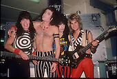 QUIET RIOT, LIVE AND BACKSTAGE, 1983, NEIL ZLOZOWER