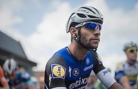 Fernando Gaviria (COL/Etixx-QuickStep) at the start<br /> <br /> 101st Kampioenschap van Vlaanderen 2016 (UCI 1.1)<br /> Koolskamp › Koolskamp (192.4km)