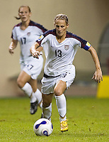 USA forward (13) Kristine Lilly. The United States (USA) defeated Nigeria (NGA) 1-0 during their Group B first round game at Hongkou Stadium in Shanghai, China on September 18, 2007.