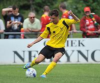 Sporting Menen - KV Oostende : Thomas Lubaszka<br /> foto VDB / Bart Vandenbroucke