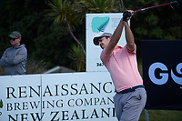 Johnny Tynan. Day one of the Renaissance Brewing NZ Stroke Play Championship at Paraparaumu Beach Golf Club in Paraparaumu, New Zealand on Thursday, 18 March 2021. Photo: Dave Lintott / lintottphoto.co.nz