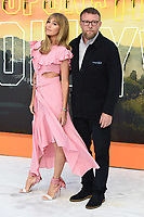 """Jacqui and Guy Ritchie<br /> arriving for the """"Once Upon a Time... in Hollywood"""" premiere, Leicester Square, London<br /> <br /> ©Ash Knotek  D3514  30/07/2019"""