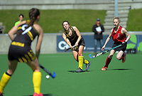 Action from the women's premier one Wellington Hockey match between Hutt United and Dalefield at National Hockey Stadium in Wellington, New Zealand on Saturday, 12 September 2020. Photo: Dave Lintott / lintottphoto.co.nz