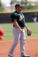 Tommy Everidge - Oakland Athletics - 2009 spring training.Photo by:  Bill Mitchell/Four Seam Images