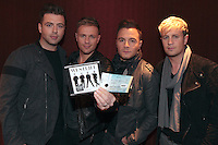 WESTLIFE ANNOUNCE FOUTH O2 DATE