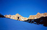 Ascent of Akioud (4040 m), High Atlas, Morocco, 2017