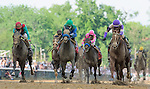 I'll Have Another, ridden by Mario Gutierrez and trained by Doug O'Neill, during the 138th Kentucky Derby at Churchill Downs in Louisville, Kentucky on May 5, 2012