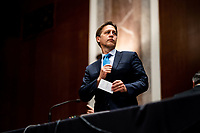 United States Senator Ben Sasse (Republican of Nebraska) attends a US Senate Judiciary Committee business meeting to consider authorization for subpoenas relating to the Crossfire Hurricane investigation and other matters on Capitol Hill in Washington, DC on June 11, 2020.<br /> Credit: Erin Schaff / Pool via CNP/AdMedia