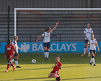 Brooke Chaplen of Reading celebrates scoring the first goal during Tottenham Hotspur Women vs Reading FC Women, Barclays FA Women's Super League Football at the Hive Stadium on 7th November 2020