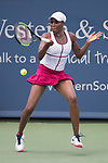 August 16,2017:   Venus Williams (USA) loses to Ashleigh Barty (AUS) 6-3, 2-6, 6-2, at the Western & Southern Open being played at Lindner Family Tennis Center in Mason, Ohio.  ©Leslie Billman/Tennisclix