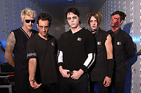 WEST PALM BEACH, FL -SEPTEMBER 20th 2006        Deadsy photo session at The Sound Advice Amphitheatre during the Family Values Tour on September 20th , 2006 in  West Palm Beach Florida.  (Photo by Larry Marano)<br />The son of Cher and Greg Allman, Elijah Blue Allman photographed with his band Deadsy.