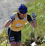 Bragvin Andresen in action during the World Cup in Trento Monte Bondone © Pierre Teyssot