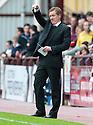 Hearts' manager Gary Locke.
