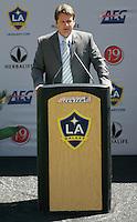 LA Galaxy Head Coach Frank Yallop during the David Beckham, LA Galaxy press conference at the Home Depot Center in Carson, California, Friday, July 13, 2007.