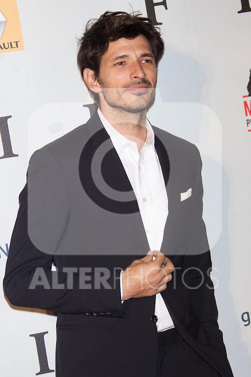 Andres Velencoso attends 'FIN' Premiere at Callao Cinema in Madrid on november 20th 2012...Photo: Cesar Cebolla / ALFAQUI..