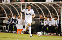 Angel Di Maria. Real Madrid defeated Club America 3-2 at Candlestick Park in San Francisco, California on August 4th, 2010.