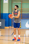 Player Javier Beiran during the training of Spanish National Team of Basketball 2019 . July 26, 2019. (ALTERPHOTOS/Francis González)