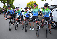 Team BridgeLane on day one of the NZ Cycle Classic UCI Oceania Tour in Wairarapa, New Zealand on Wednesday, 15 January 2020. Photo: Dave Lintott / lintottphoto.co.nz